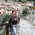 Syusy at Cortona, Tuscany