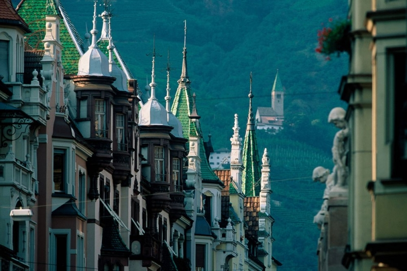 A walk in Bolzano - Italia Slow Tour