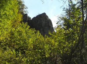The megalithic face of Borzone