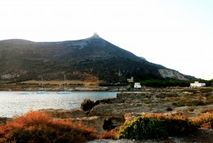 view of Favignana, pic by Carlotta Cicotti