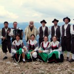 Alpago traditional dancers and musicians