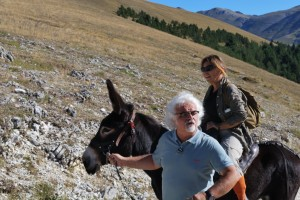 Trekking with donkeys