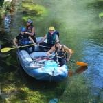 Kayak in the River