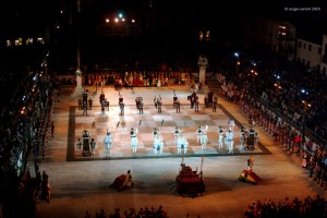 Marostica chess game