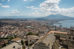 Naples view, Spaccanapoli