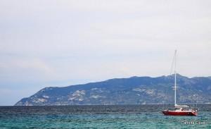 Sailing at Elba