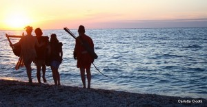 Argonauts beach, Elba island