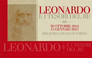 Leonardo exhibit in Turin