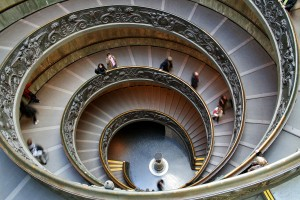 Vatican Museums main stair