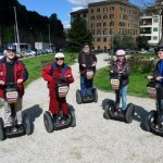 Visiting Rome by segway