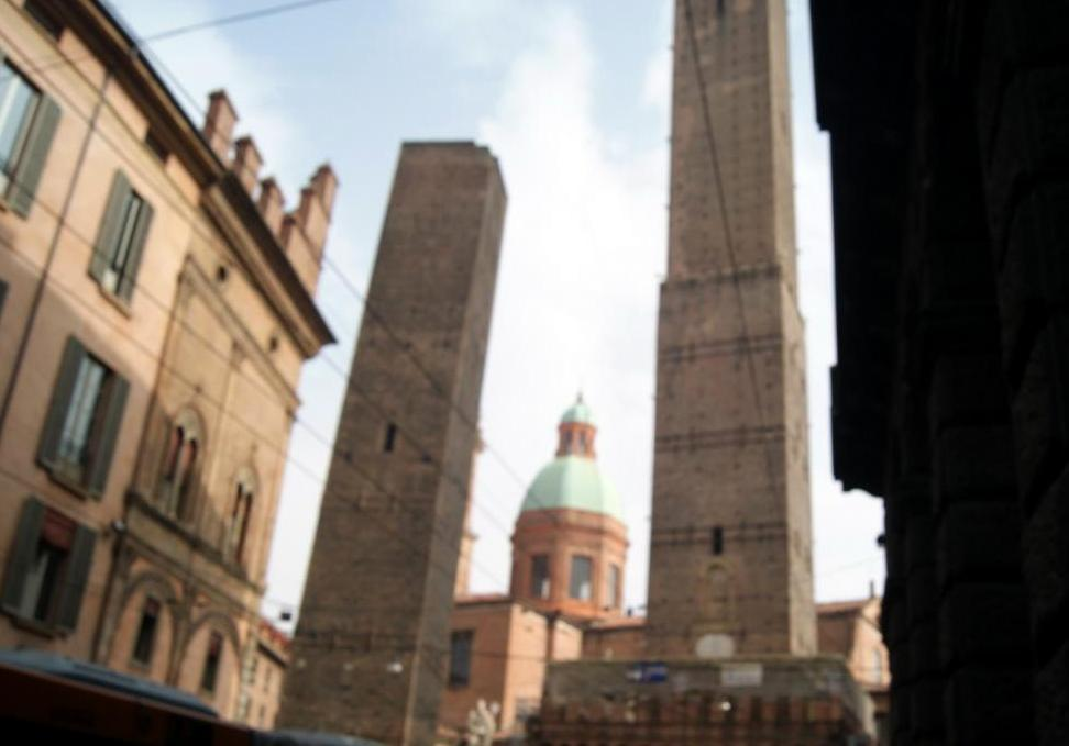 Bologna, two towers