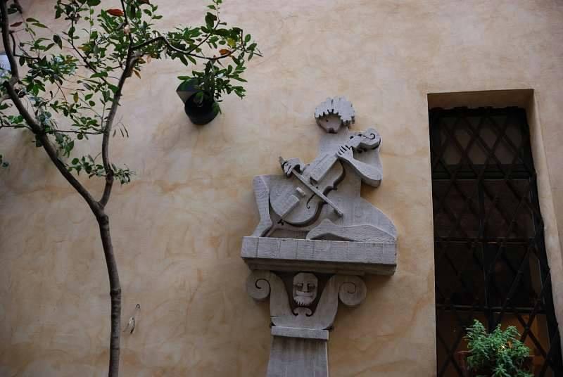 A corner of Orvieto, by Anna Maria Speltra