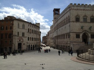 Perugia city centre, pic of Flickr User Perugiacity.com