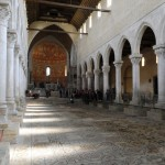 Inside Aquileia Cathedral