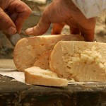 The pit cheese of Sogliano, pic by Turismo Emilia Romagna http://blog.travelemiliaromagna.com/