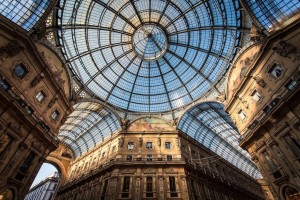 Milan, Vittorio Emanuele Gallery (pic by Roberto Taddeo)