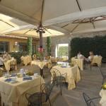 Grand Hotel Adriatico Breakfast in the garden