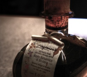 Balsamic Vinegar of Modena (Pic by Flickr User Jacob Enos)