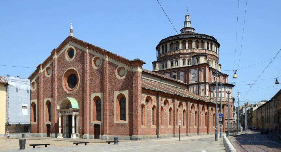 Milan, St Maria delle Grazie