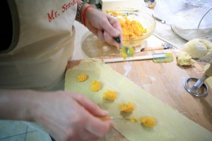 Pumpkin Ravioli - by Flickr User MS-R / Michael S-R