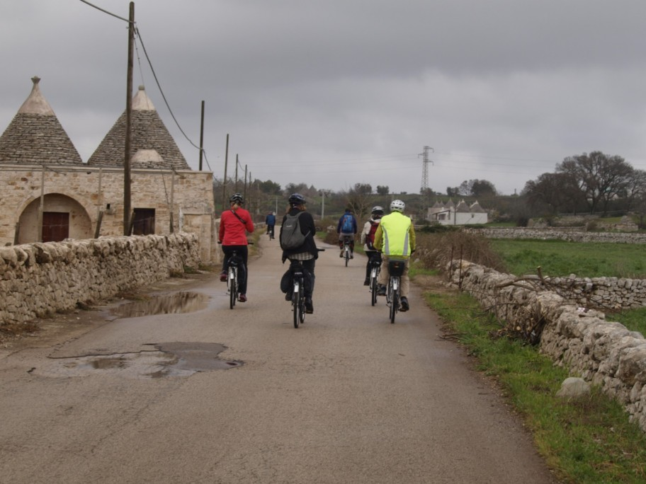 cycling in the Valle d'Itria