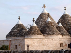 trulli in the Valle d'Itria