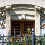 window of Villa Ravazzini