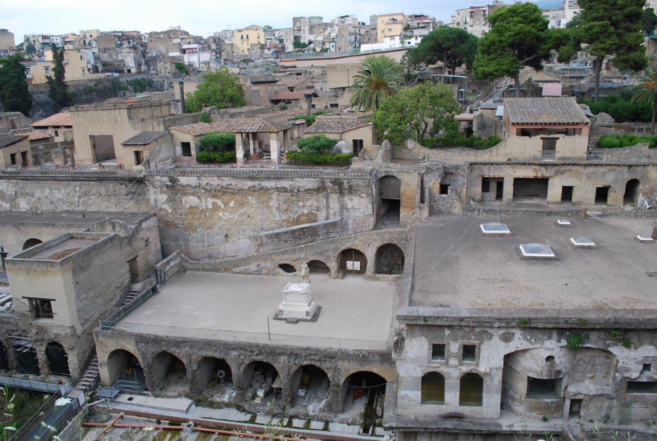 archaeological sites in Herculaneum