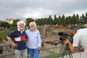 Patrizio and Ciro in Herculaneum