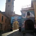 murals in Dozza