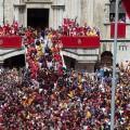 The candle of Gubbio - St Ubaldo Day
