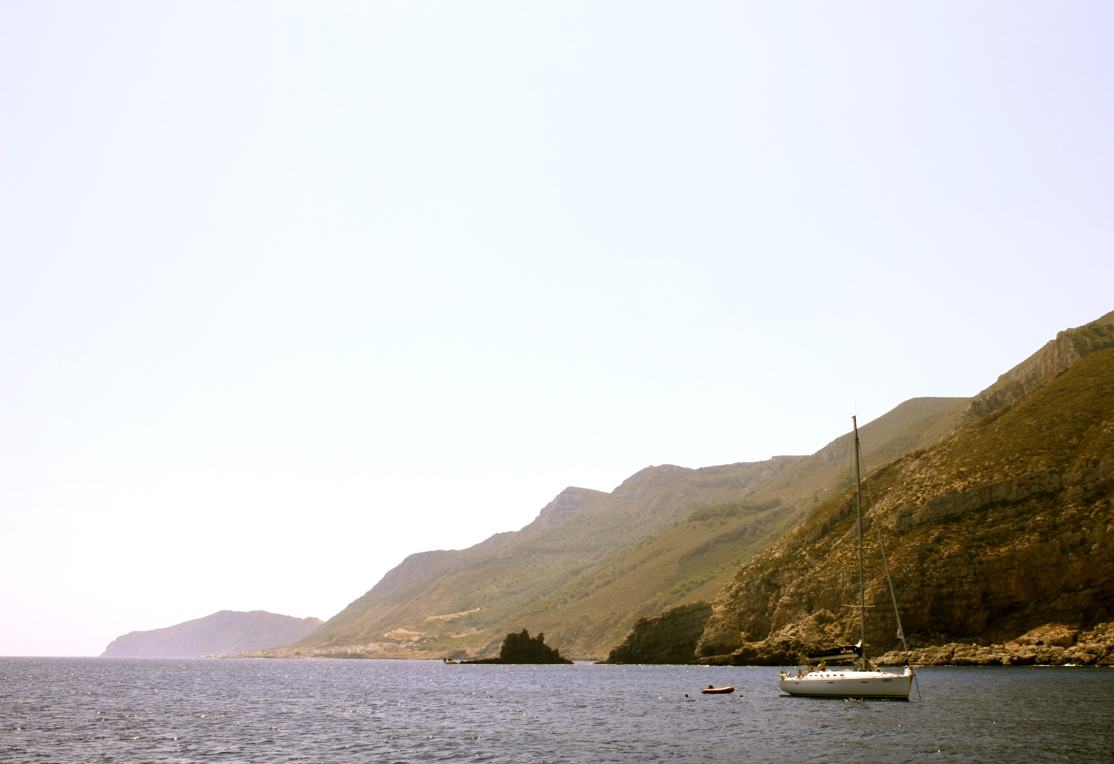 on the way to Grotta del Genovese, pic by Carlotta Cicotti