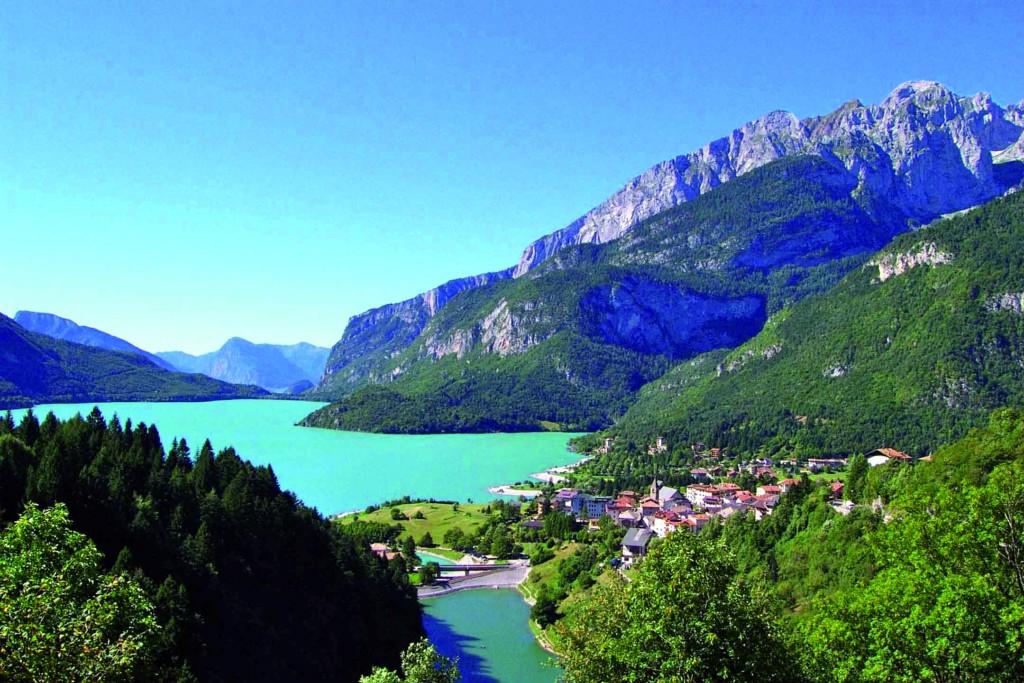 Molveno, Lake, pic by Legambiente