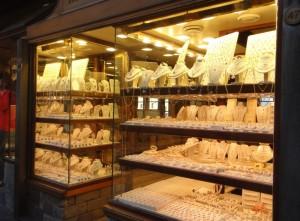 Ponte Vecchio Jewelry shops