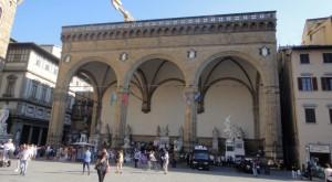 Loggia Italiana on Signoria square