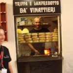 Lampredotto street food stand