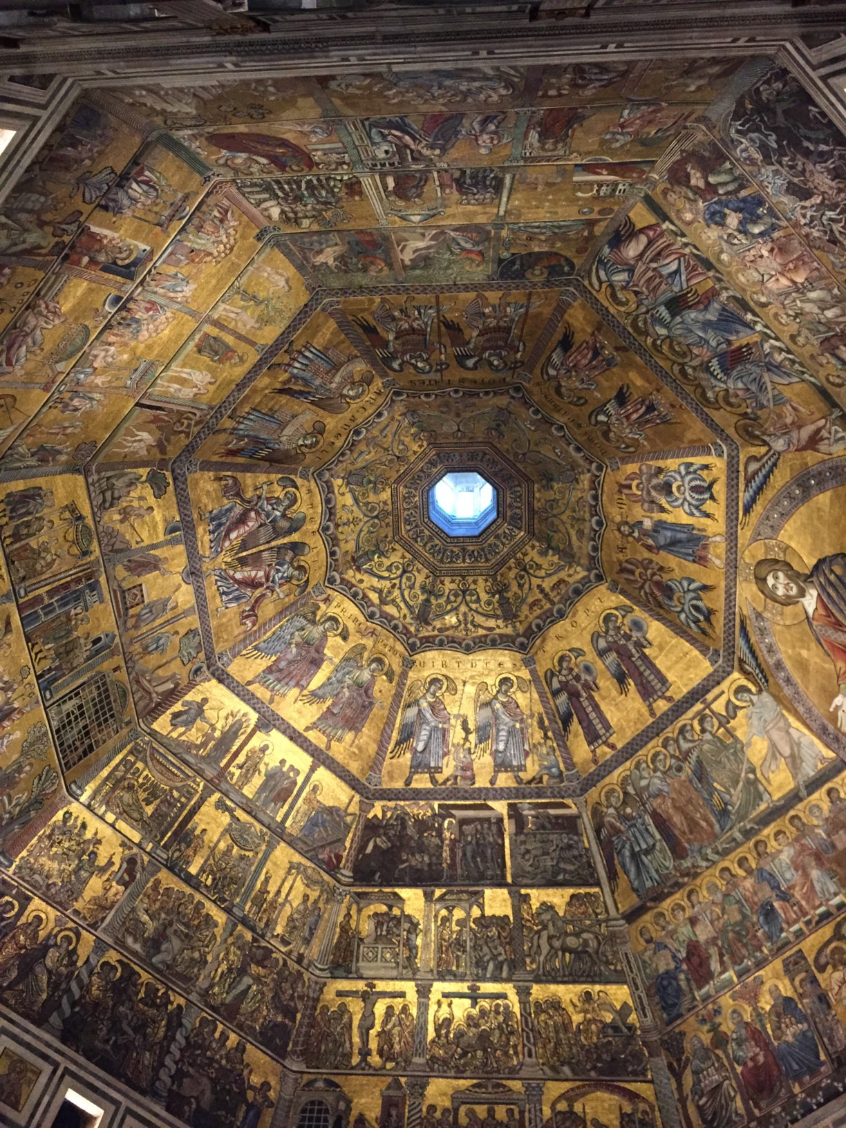 inside Florence baptistery