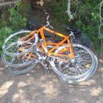 Locked bikes!