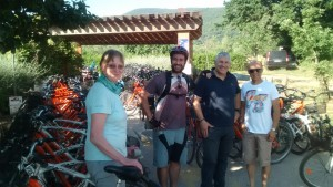 Ready for Maremma bike tour