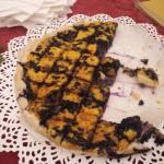 Omelette with bilberry (Vincent Van Valen)