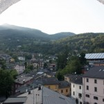 view from Fanano's tower