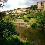 Bisenzio river in Vaiano