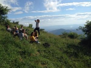 Hiking in Calvana