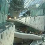 Inside Italian Pavilion at EXPO Milan