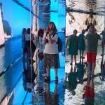 Mirrors and beauties inside Italian Pavilion