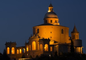 San Luca by night pic by Marco Monetti