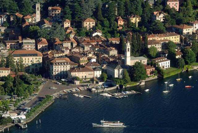 Lake Como coastline