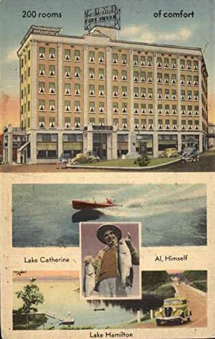Vintage  Hotel Poster