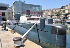 Submarine Nazario Sauro, Genoa, Galata Museum. Pic by AcquarioVillage