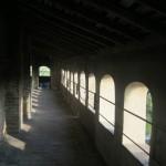 Vignola, inside the fortress